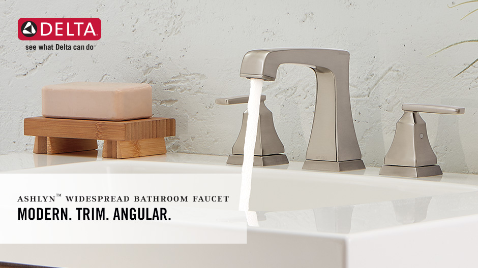 Delta Windemere B3596lf Double Handle Widespread Bathroom: Delta Ashlyn 8 In. Widespread 2-Handle Bathroom Faucet
