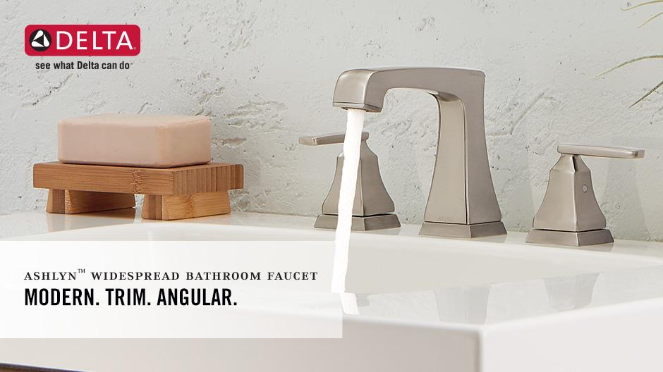 Ashlyn 2-Handle Widespread Bathroom Faucet with DIAMOND Seal Technology
