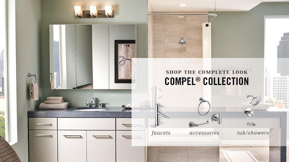 Delta Compel Single Hole Single-Handle Bathroom Faucet