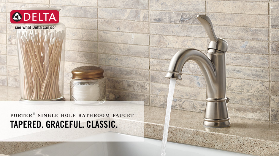 Porter Single-Handle Bathroom Faucet