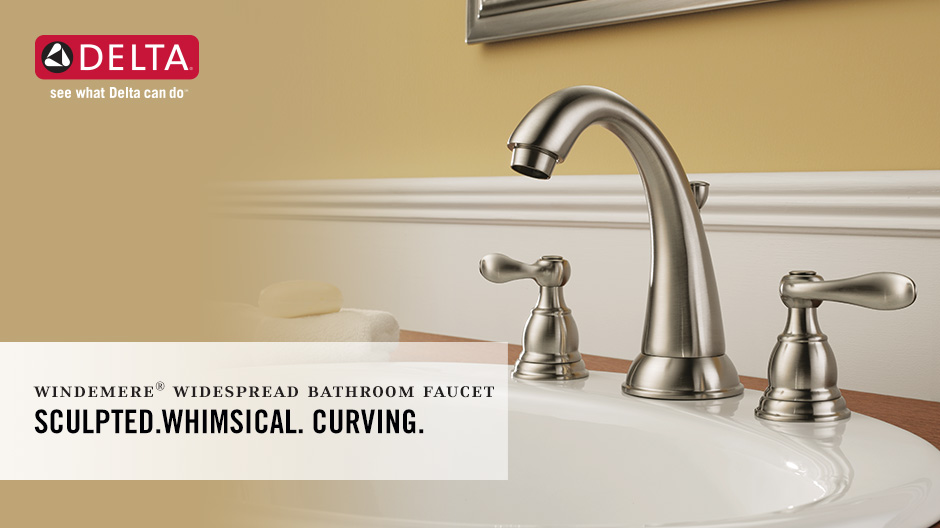 Windemere 2-Handle Widespread Bathroom Faucet