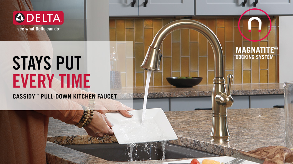 Cassidy Single-Handle Pull-Down Kitchen Faucet
