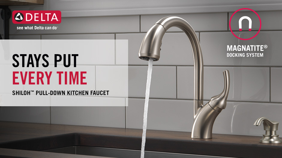 Shiloh Single-Handle Pull-Down Kitchen Faucet