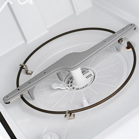 Interior tub filter