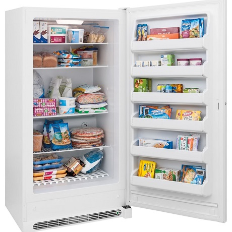 Frigidaire 20 Cu Ft Frost Free Upright Freezer In White