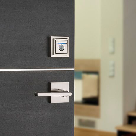Pairs with Contemporary Deadbolts