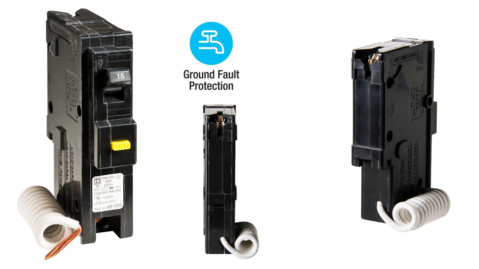Get Ground Fault Protection With Square D Homeline Gfci Breakers