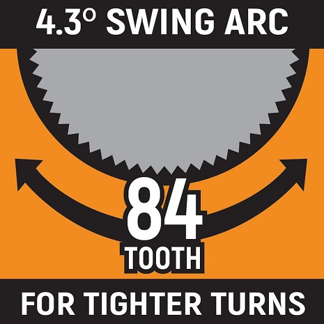 84-tooth ratcheting icon