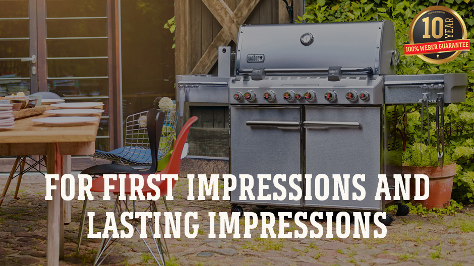 For first impressions