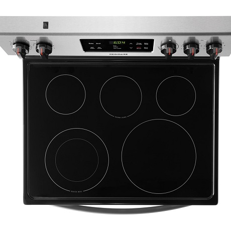Frigidaire 30 In 5 3 Cu Ft Electric Range With Self