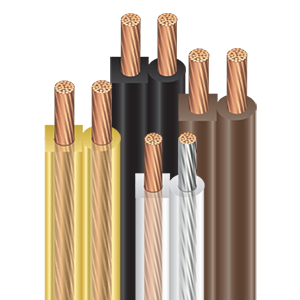 Southwire Stranded Copper Lamp Wire Assortment (SPT-1, SPT-2)