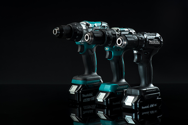 Comparison image lightest and most compact MAKITA tool