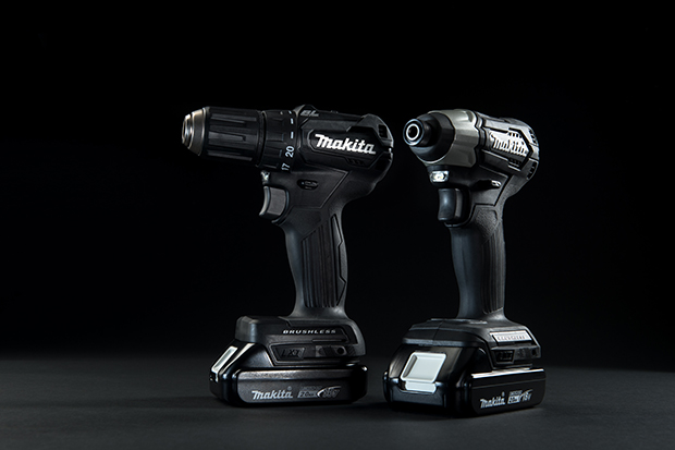 Image of two MAKITA power tools for drilling, driving, and fastening