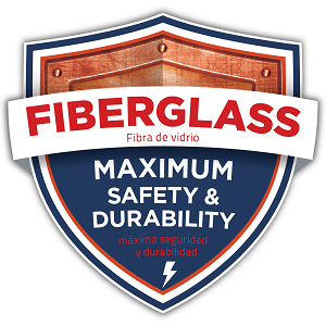 Made of fiberglass