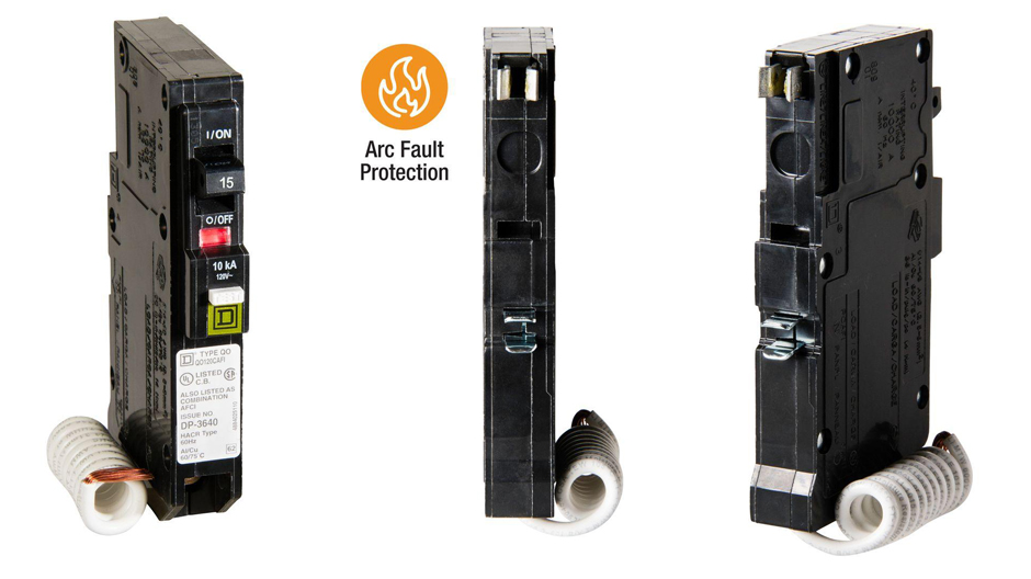Get parallel and series arc protection with Square D QO CAFCI breakers