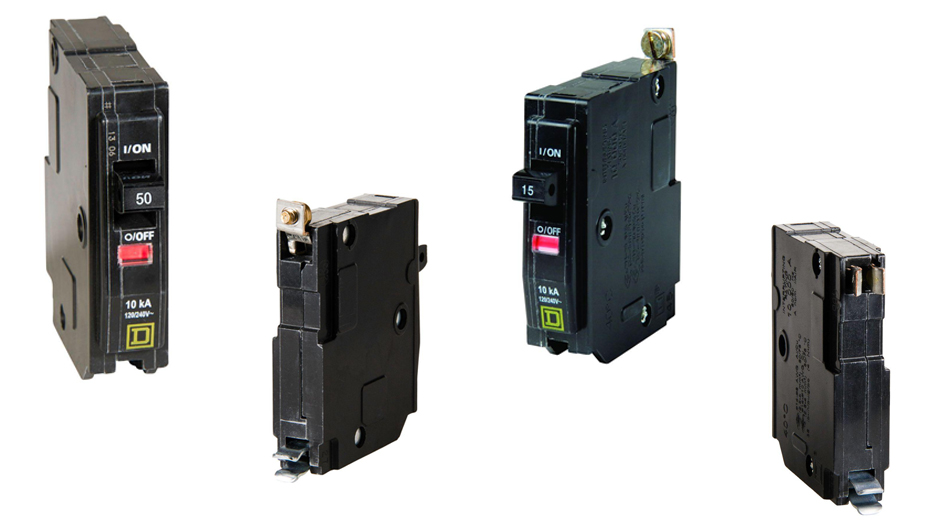 Square D QO standard breakers use thermal-magnetic breaker technology