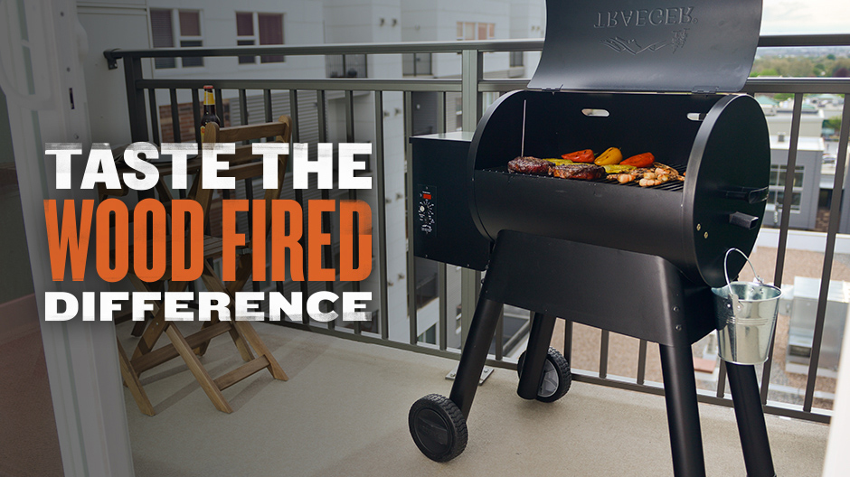 Traeger Grills - Taste The Wood Fired Difference - Bronson 20