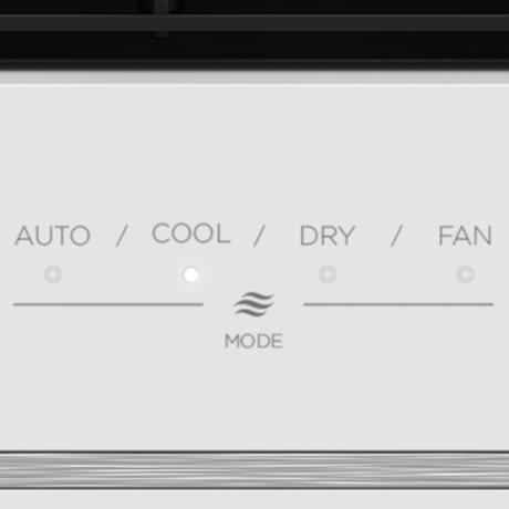 Close up of controls
