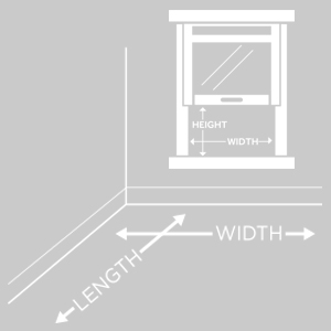 Window with lines