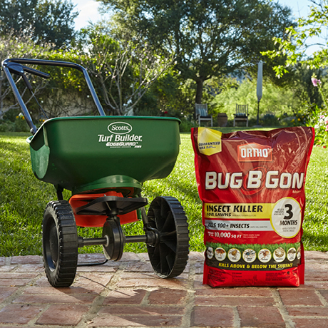 Exterior Photo Of Ortho Bug B Gon Insect With Broadcast Spreader