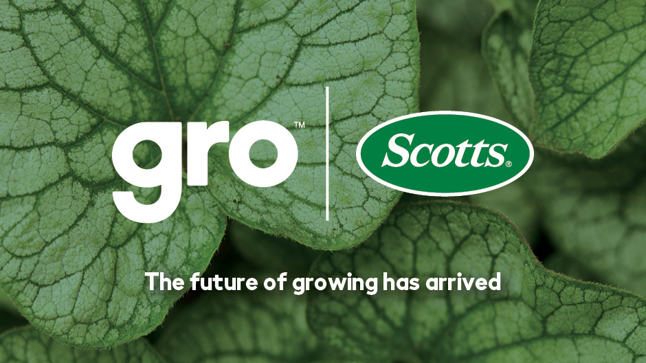 The future of growing has arrived with Scotts Gro.
