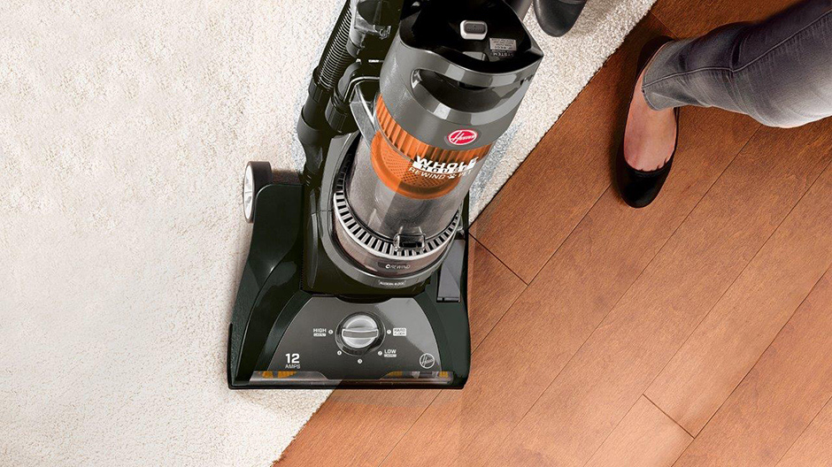 Hoover WindTunnel 2 Whole House Rewind Bagless Pet Upright Vacuum Cleaner