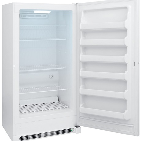 Frigidaire 20 cu  ft  Frost Free Upright Freezer in White, ENERGY STAR