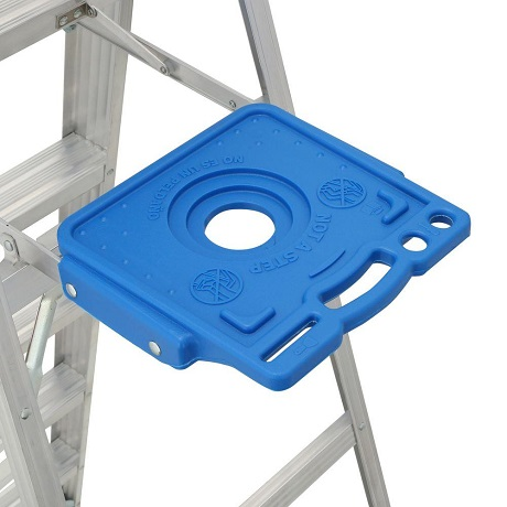 PAIL Shelf of the aluminum step ladder