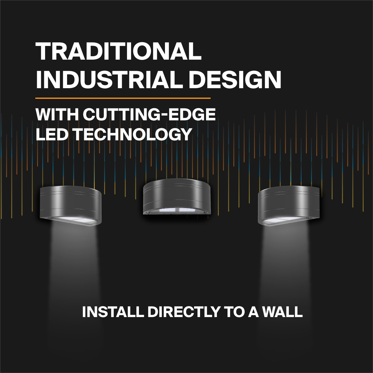 Probrite Architectural LED Wall Pack With Traditional Industrial Design