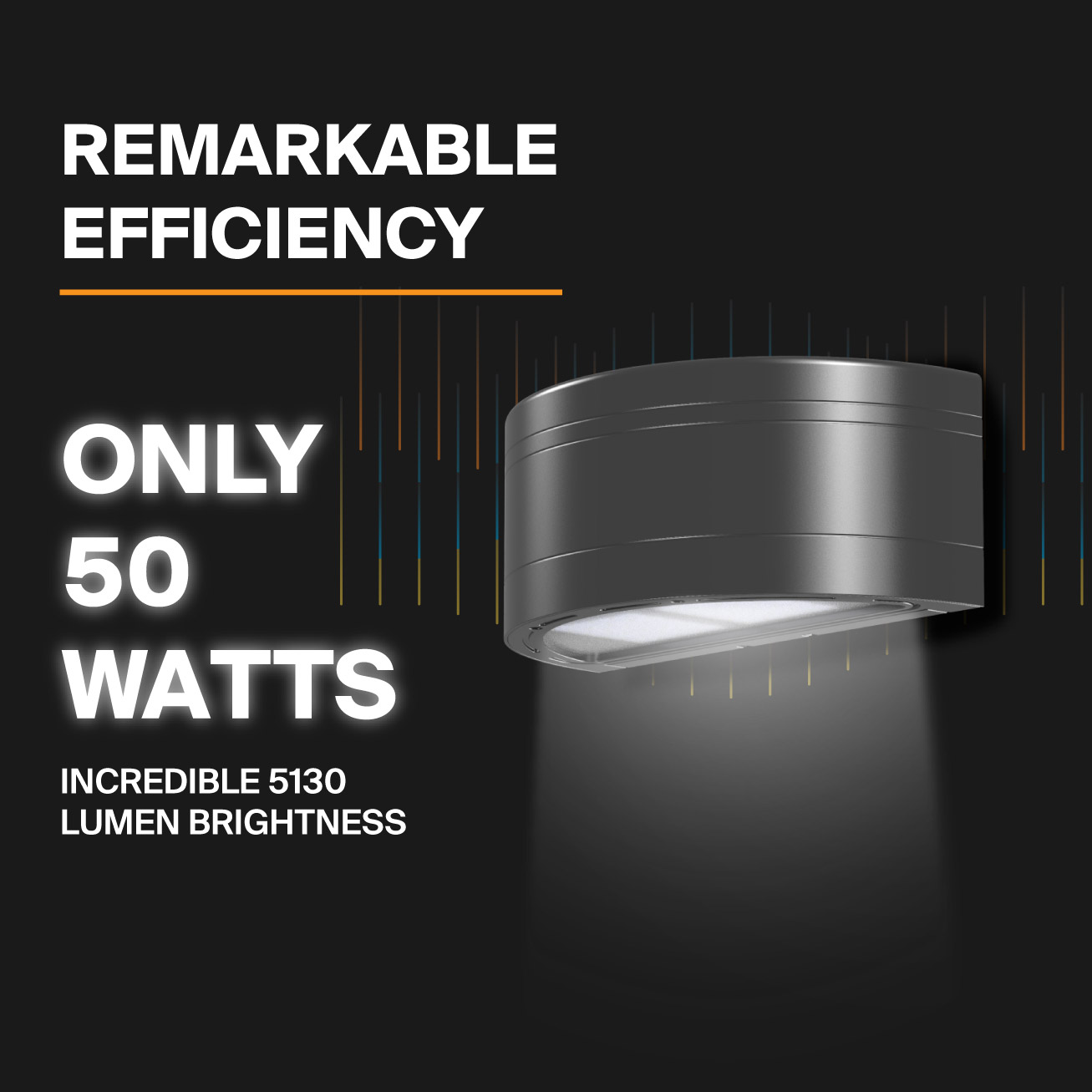 Probrite Architectural Integrated LED Wall Pack is Efficient