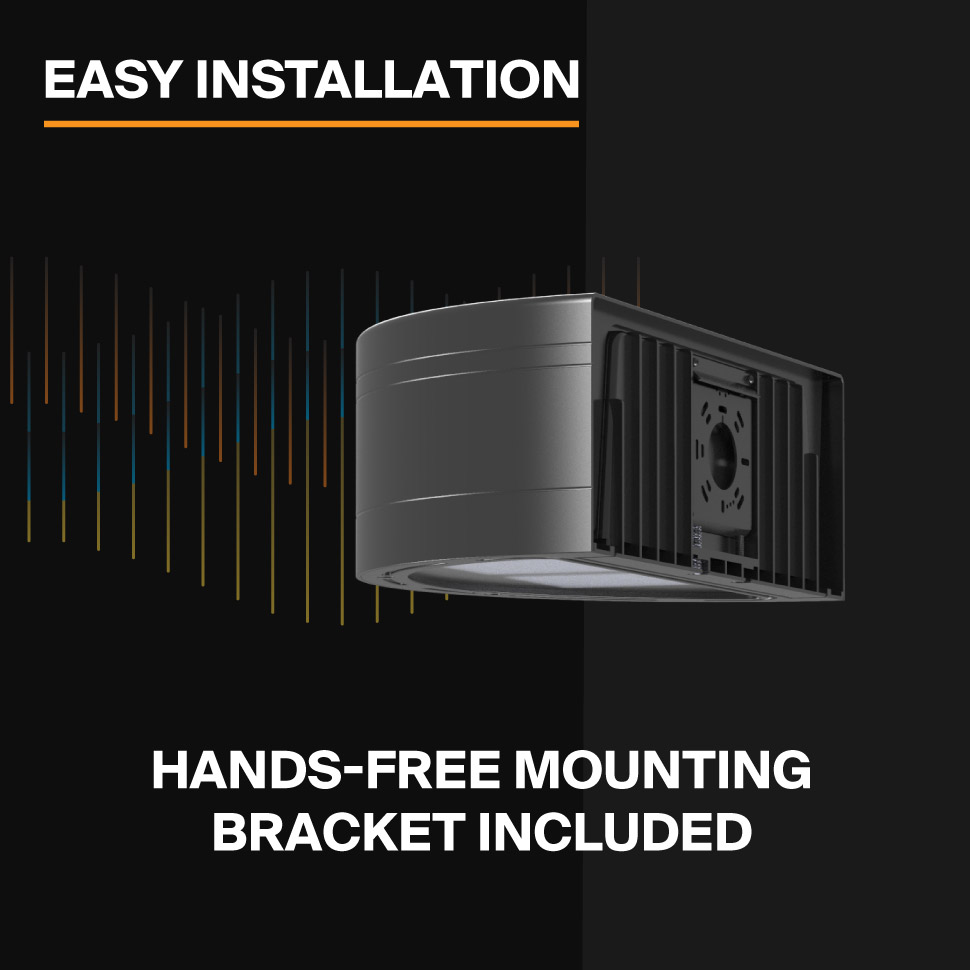 Probrite Architectural LED Wall Pack Easy Installation