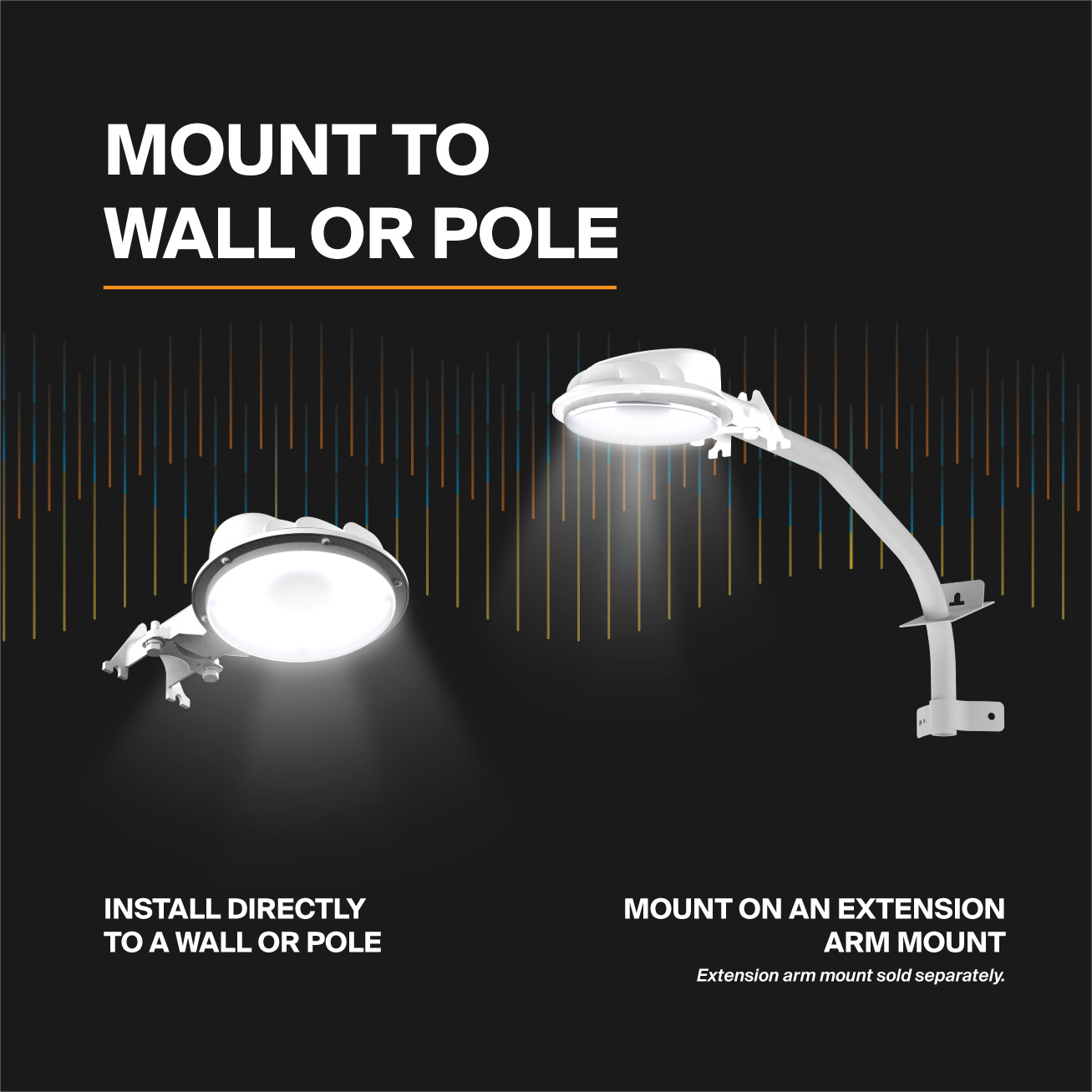 Probrite ASTRA20 LED Area Light Mounting Options
