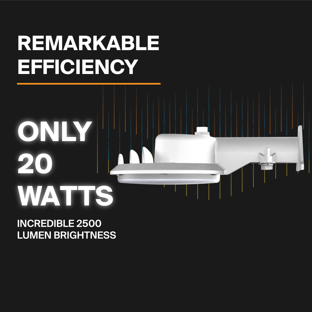 Probrite LED Area Light ASTRA20 Efficiency
