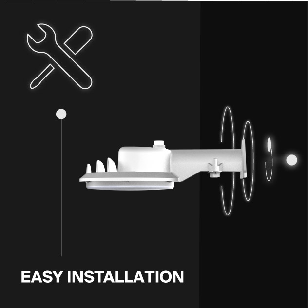 Probrite ASTRA20 LED Area Light Easy Installation
