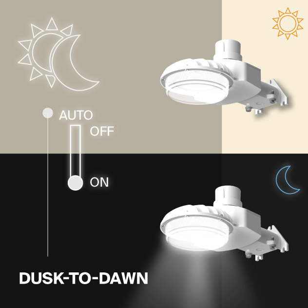 Probrite ASTRA40 LED Area Light Dusk to Dawn Outdoor Light