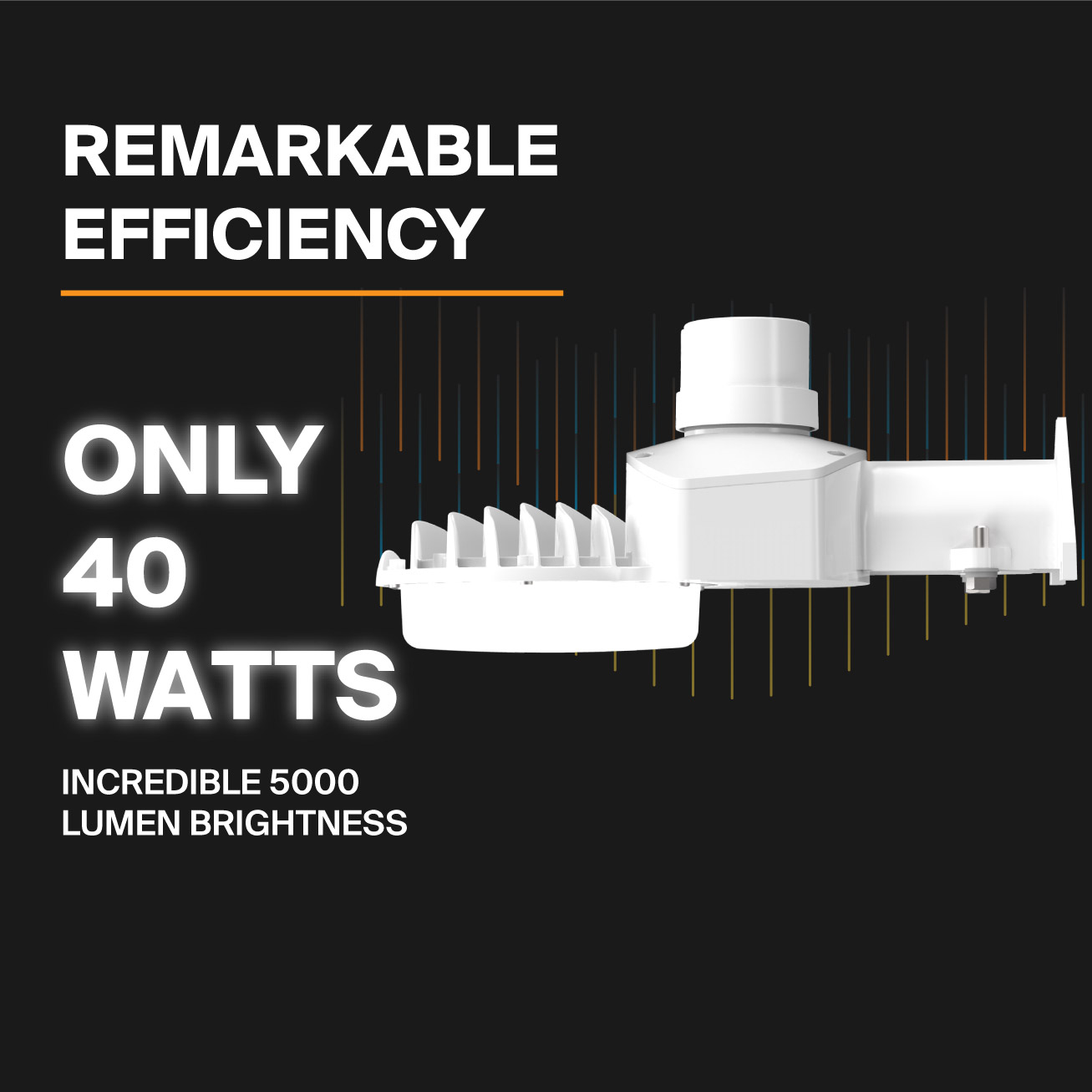 Probrite ASTRA40 LED Area Light Remarkable Efficiency