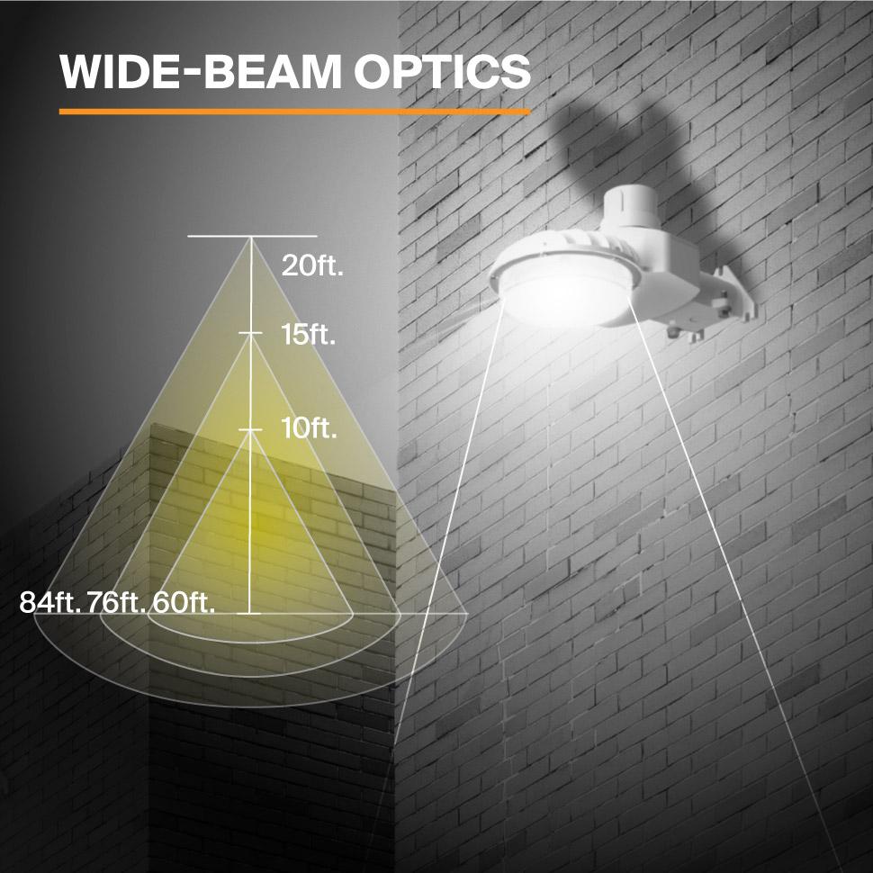 Probrite LED Area Light Astra40 Wide Beam Optics
