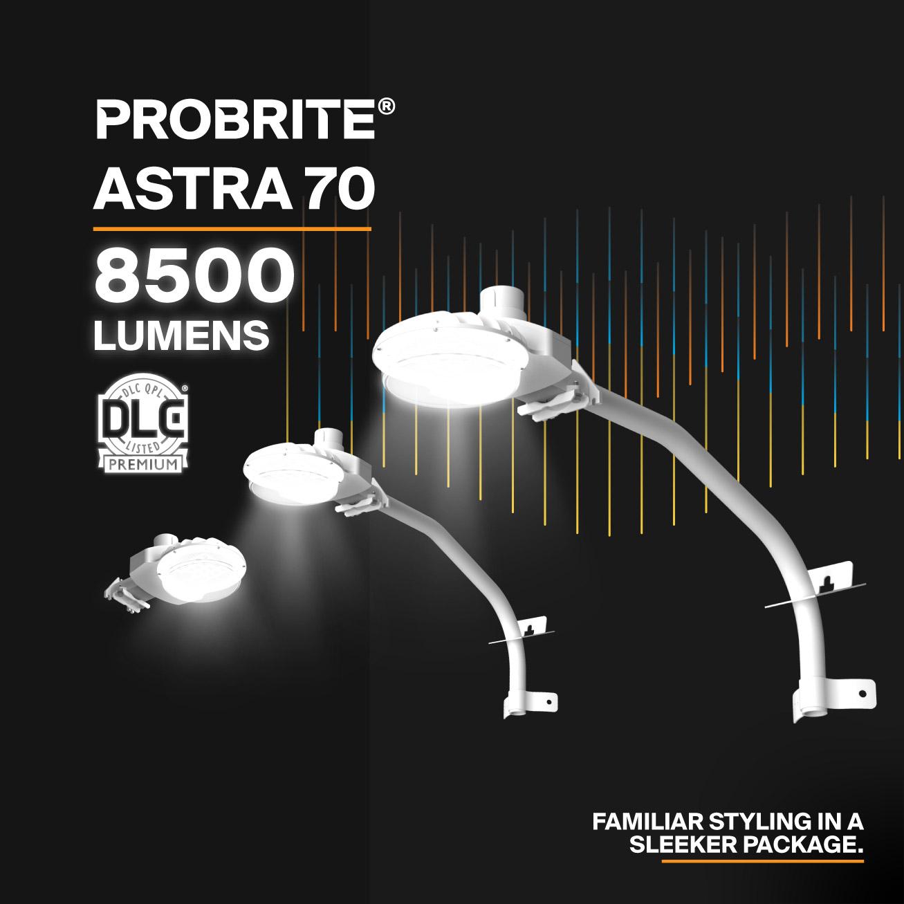 Probrite LED Area Light Astra70 Sleek Design