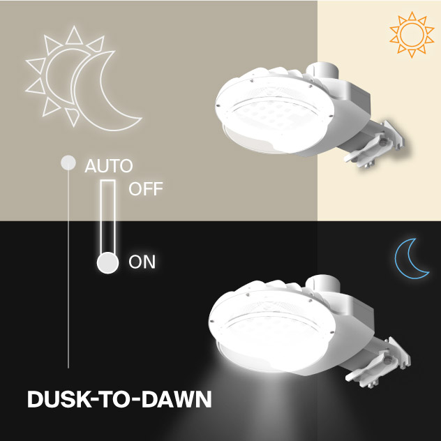 Probrite ASTRA70 LED Area Light Dusk to Dawn Outdoor Light