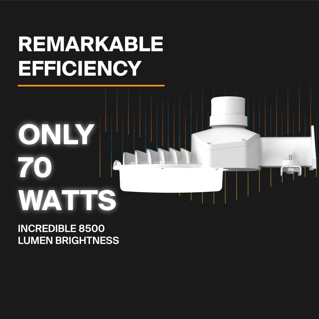 Probrite ASTRA70 LED Area Light Remarkable Efficiency