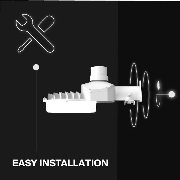 Probrite LED Area Light ASTRA70 Easy Installation