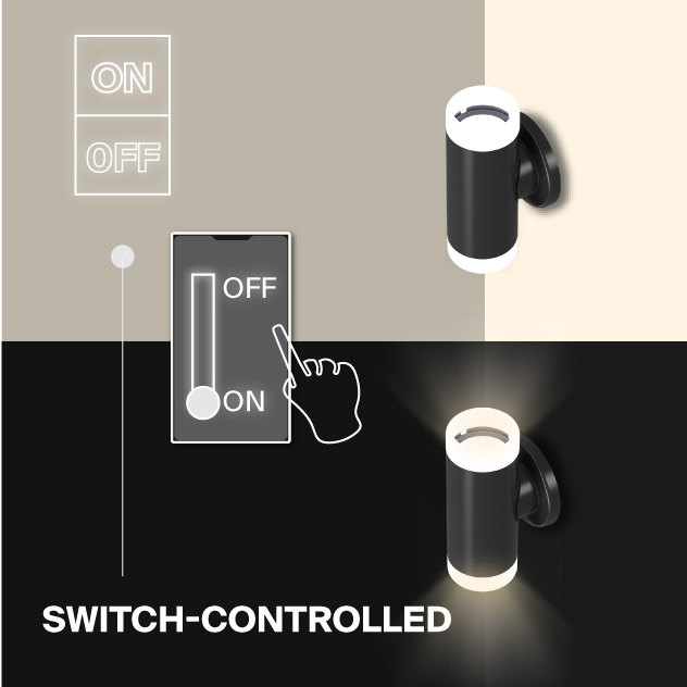 Probrite Aura20 LED Wall Pack Switch Controlled