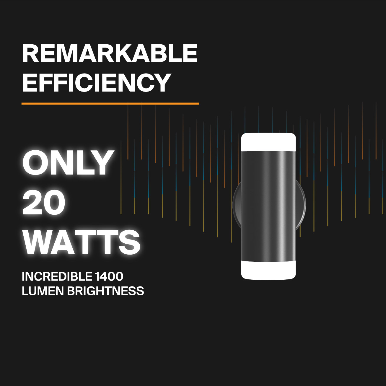 Probrite Aura20 LED Wall Pack Efficiency