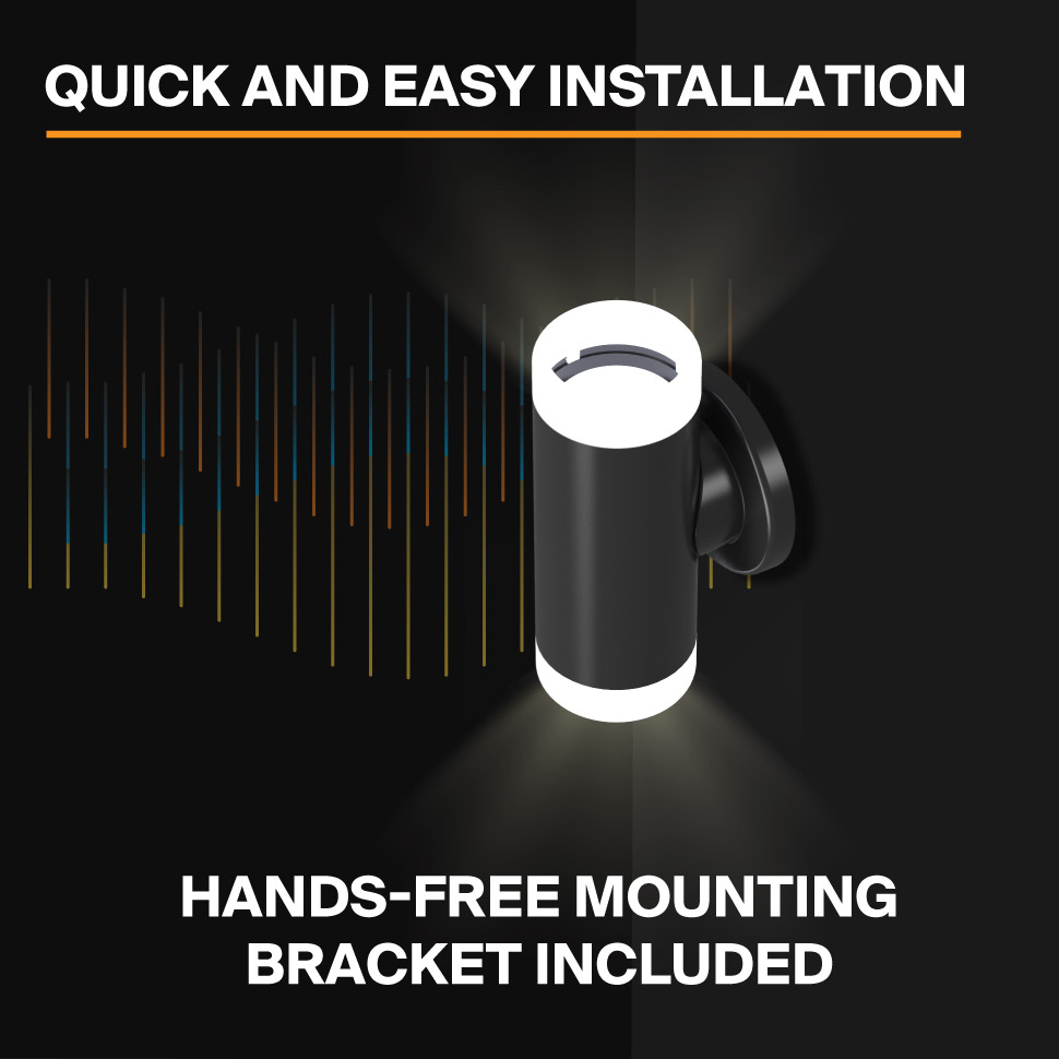 Probrite Aura20 LED Wall Pack Easy Installation