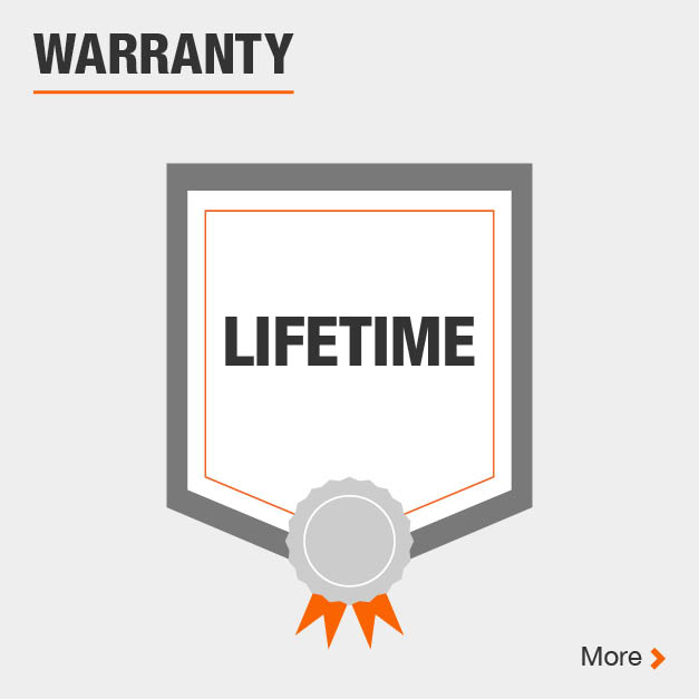 This product includes lifetime warranty