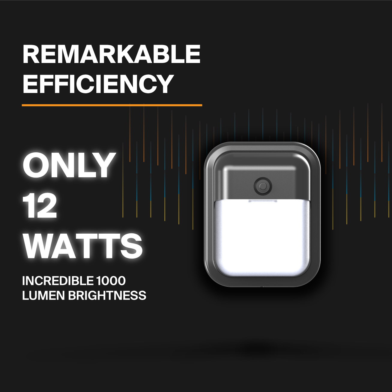 Probrite Dawn12 LED Wall Pack Efficiency