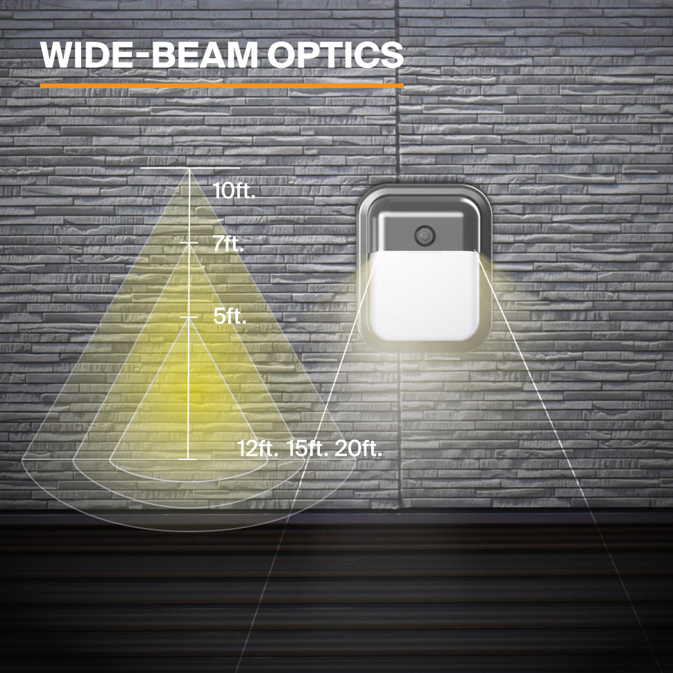 Probrite Dawn12 LED Wall Pack Wide Beam Optics