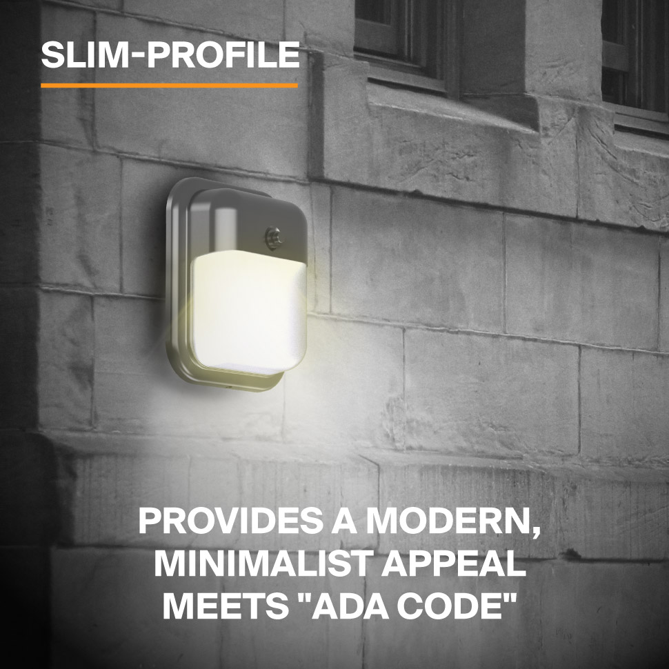 Probrite Dawn12 LED Wall Pack Slim Profile