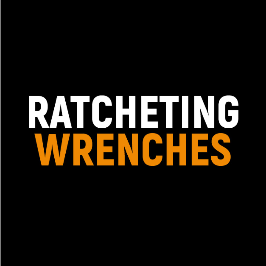 72-Tooth Ratcheting Wrenches