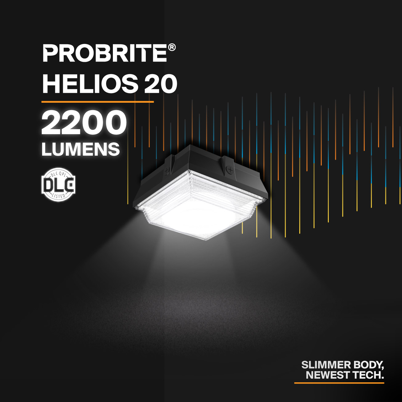Probrite Helios20 LED Ceiling Light Slim Body